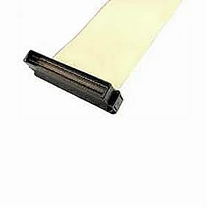 Cable, SCSI-3, 2-Device, TPE Yellow, 68Pin Flat, 3